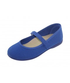 Dancer's canvas blue Velcro