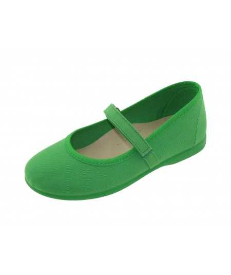 Dancer's Green canvas with velcro