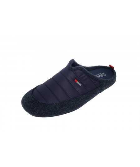 Zapatillas de estar por casa acolchadas color azul para hombre