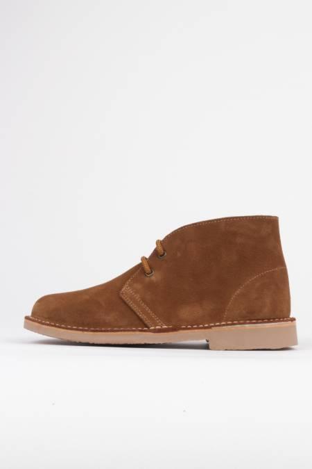 Safari lace-up desert boots...