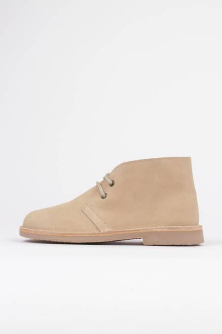 Boys Panama Fashionable Black Lace Up Desert Ankle Boots Sizes UK 2 UK 6