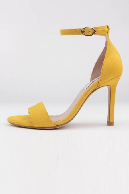 Dress sandals yellow suede...