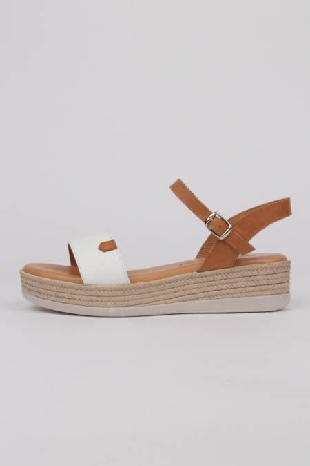 Woman platform sandals...
