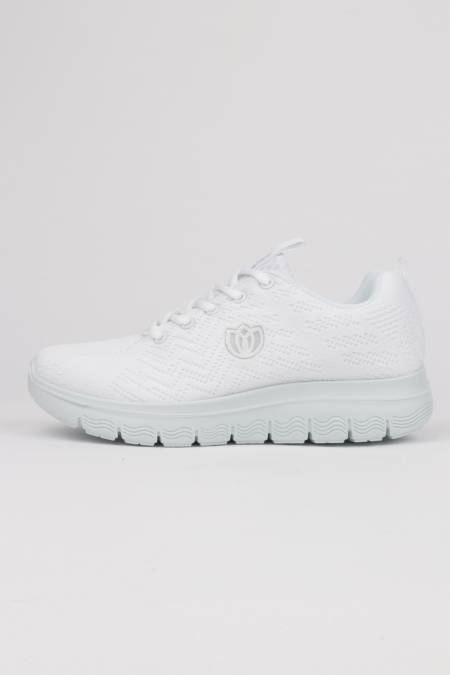 Woman white sneakers Laura...