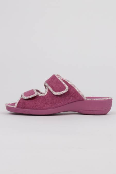 Lilac wedge slippers double...