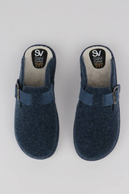 Women's home slippers navy...