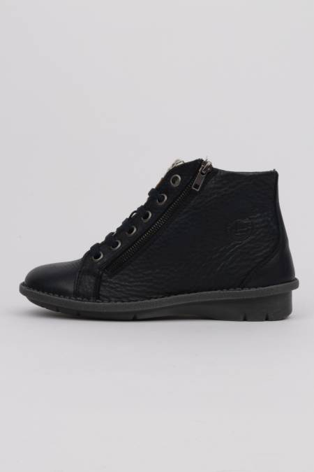 Women's navy blue lace-up...