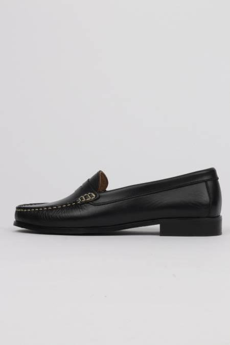 Women's black loafers