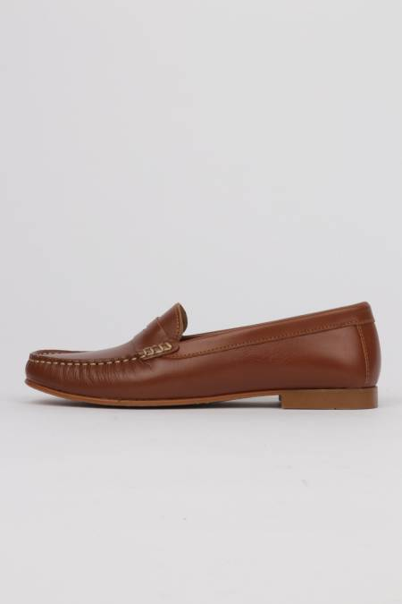 Women's light brown leather...