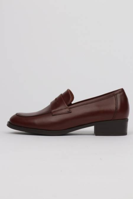 Women's brown loafers...