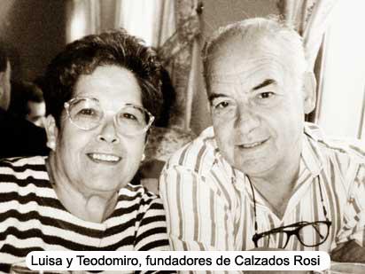 Nuestros padres y fundadores de Calzados Rosi