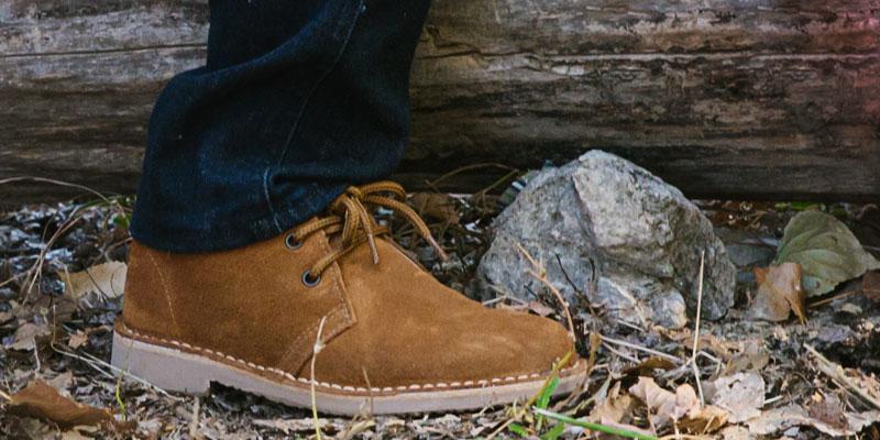 Woman desert boots
