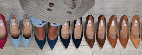 Pumps shoes colors