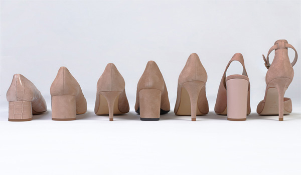 Woman heel shoes