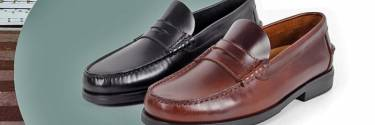 Boat shoes and loafers, men's shoes in spring