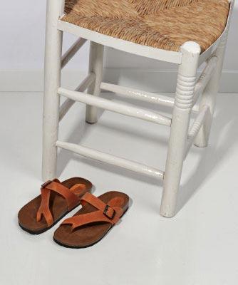 Sandalias dedo mujer